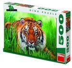 Tygr v trávě