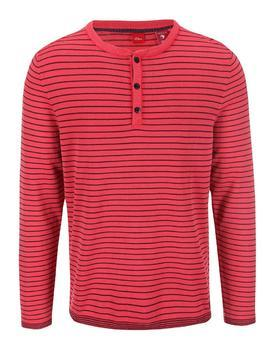 Red men's striped sweater s.Oliver