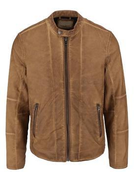 Light brown leatherette jacket Shine Original Travis