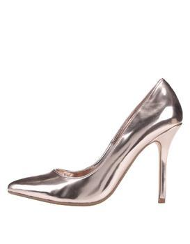 Pumps in gold color Dune London Burst