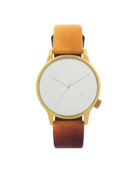 Colorful unisex watch with dial in gold Komono Winston by Rene Magritte