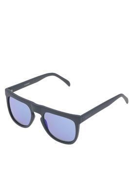 Černé unisex sluneční brýle Komono Bennet