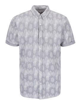 Šedá vzorovaná košeľa Lindbergh Gibson Out