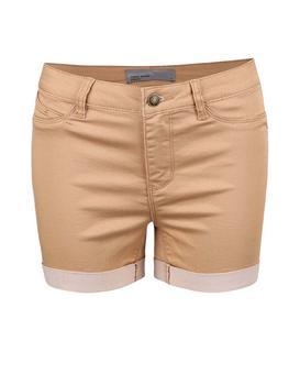 Light brown shorts Vero Moda Flex-It