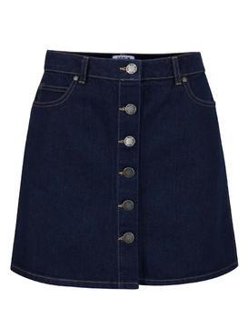 Dark blue denim skirt Miss Selfridge