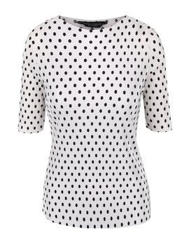 White shirt with black polka dots Dorothy Perkins