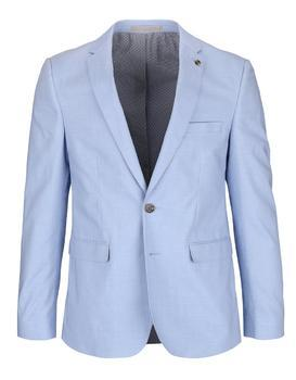 Light blue slim fit jacket Burton Menswear London