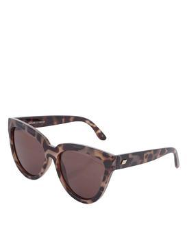 Black-brown tortoise women sunglasses Le Specs Liar Lair