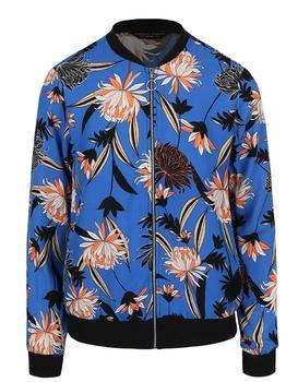 Blue flowered bomber Dorothy Perkins