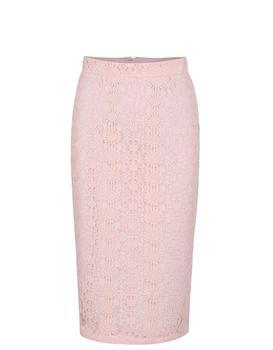 Sleeve light pink skirt with a high waist Dorothy Perkins