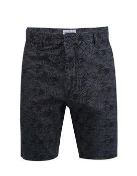 Black shorts with a pattern Shine Original