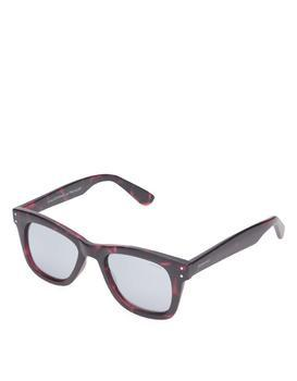 The reddish unisex sunglasses Komono Allen
