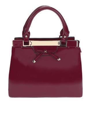Burgundy handbag Gionne Ariadne - 1