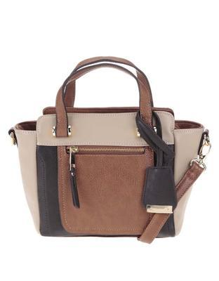 Clarks brown handbag Mai Rose - 1