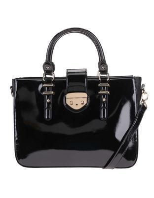 Black patent handbag Clarks Miss Chantal - 1