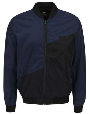 Black-and-Blue Bomber Jack & Jones Fly - 1