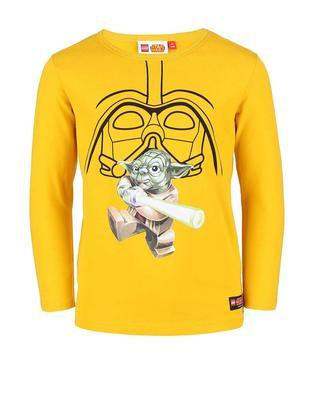 Yellow boy's shirt with long sleeves LEGO Wear Tony - 1