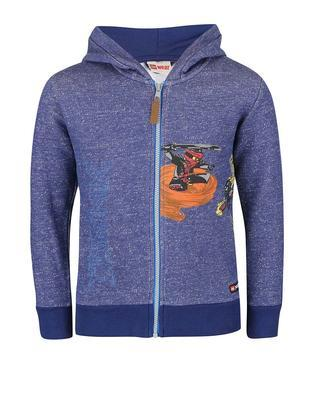 Blue boy's sweatshirt LEGO wear Skeet - 1