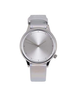Unisex watches in silver with a holographic effect Komono Estelle Iridiscent - 1
