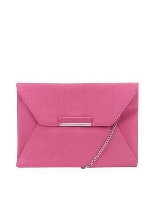 Pink clutch / handbag Dorothy Perkins - 1