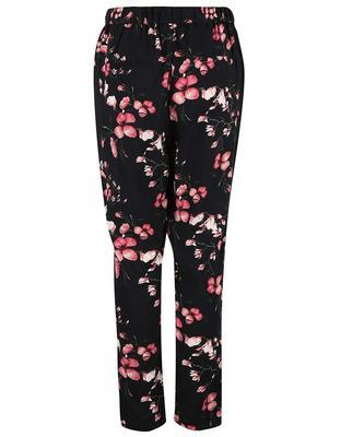 Black pants with flowers Vero Moda Super - 1