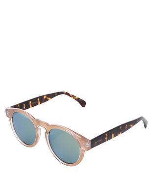 Světle růžové unisex sluneční brýle Komono Clement - 1
