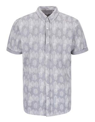 Gray patterned shirt Lindbergh Gibson Out - 1
