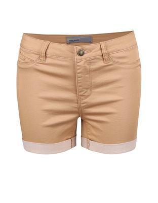 Light brown shorts Vero Moda Flex-It - 1