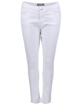 White jeans with frayed trousers Dorothy Perkins - 1