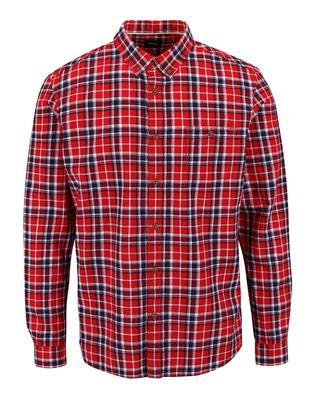 Blue-and-red checked shirt Burton Menswear London - 1