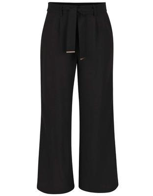Black baggy pants with belt Dorothy Perkins - 1