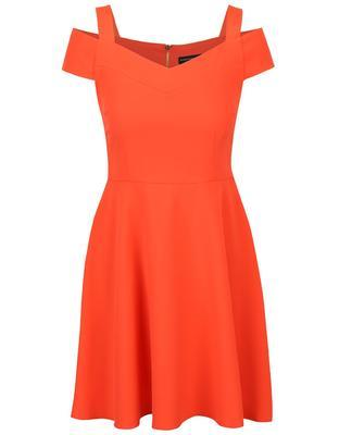 Orange dress with slashes on his shoulders Dorothy Perkins - 1