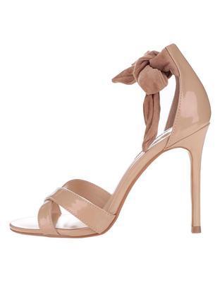 Béžové sandály na jehlovém podpatku Dorothy Perkins - 1