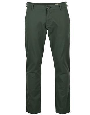Tmavě zelené kalhoty Selected Three Paris - 1