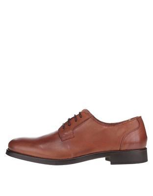 Brown leather shoes Selected Oliver - 1