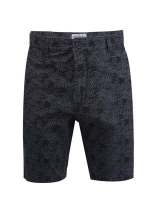 Black shorts with a pattern Shine Original - 1