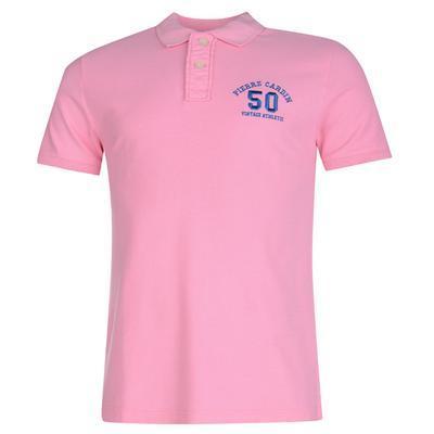 Polokošile pánská Pierre Cardin Steven, Pink | XL - 1