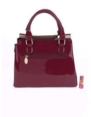 Burgundy handbag Gionne Ariadne - 2