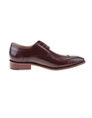 Burgundy-brown leather shoes Dice Harris - 2