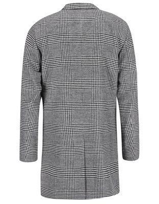 Čierno-biely kabát so vzorom glenček Jack & Jones Abalon - 2