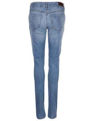 Blue slim fit jeans with torn effect Vero Moda Five - 2