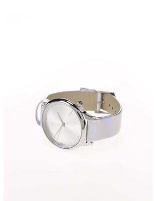 Unisex watches in silver with a holographic effect Komono Estelle Iridiscent - 2