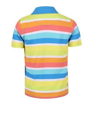 Farebné pruhované chlapčenskú polo triko Boboli - 2