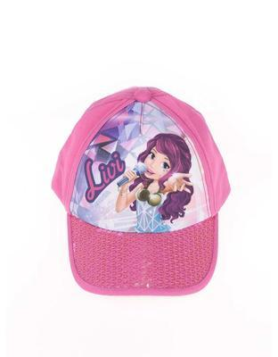 Girly pink cap imprinted with LEGO wear Camilla - 2