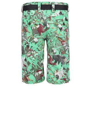 Green boys' shorts with birds Cars Jeans Sangro - 2
