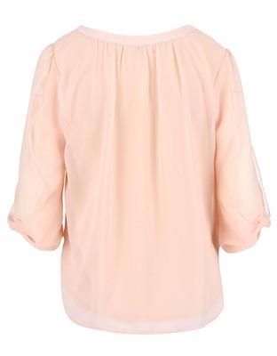 Light pink blouse with a neckline applications Dorothy Perkins - 2