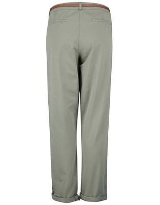 Khaki chino pants with belt Dorothy Perkins - 2
