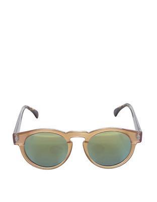 Světle růžové unisex sluneční brýle Komono Clement - 2