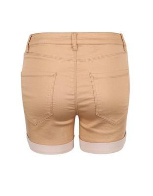 Light brown shorts Vero Moda Flex-It - 2