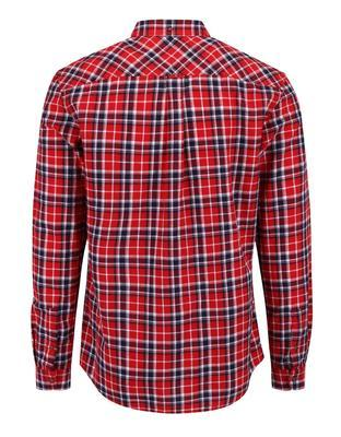 Blue-and-red checked shirt Burton Menswear London - 2